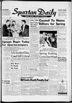 Spartan Daily, January 14, 1959 by San Jose State University, School of Journalism and Mass Communications