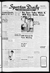 Spartan Daily, September 29, 1959 by San Jose State University, School of Journalism and Mass Communications