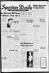 Spartan Daily, October 1, 1959 by San Jose State University, School of Journalism and Mass Communications