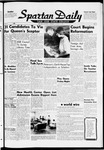Spartan Daily, October 14, 1959 by San Jose State University, School of Journalism and Mass Communications