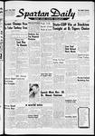 Spartan Daily, November 20, 1959 by San Jose State University, School of Journalism and Mass Communications