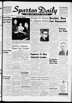Spartan Daily, February 26, 1960 by San Jose State University, School of Journalism and Mass Communications