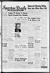 Spartan Daily, March 21, 1960 by San Jose State University, School of Journalism and Mass Communications