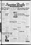 Spartan Daily, April 7, 1960 by San Jose State University, School of Journalism and Mass Communications