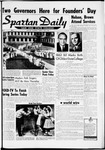 Spartan Daily, May 3, 1960 by San Jose State University, School of Journalism and Mass Communications