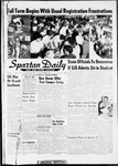 Spartan Daily, September 26, 1960 by San Jose State University, School of Journalism and Mass Communications