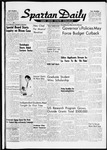 Spartan Daily, October 3, 1960 by San Jose State University, School of Journalism and Mass Communications