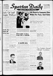 Spartan Daily, October 25, 1960 by San Jose State University, School of Journalism and Mass Communications