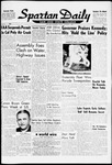 Spartan Daily, November 1, 1960 by San Jose State University, School of Journalism and Mass Communications