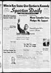 Spartan Daily, November 9, 1960
