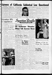 Spartan Daily, January 18, 1961 by San Jose State University, School of Journalism and Mass Communications