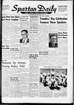 Spartan Daily, May 1, 1961 by San Jose State University, School of Journalism and Mass Communications