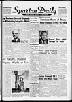 Spartan Daily, May 4, 1961 by San Jose State University, School of Journalism and Mass Communications