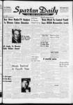 Spartan Daily, May 19, 1961 by San Jose State University, School of Journalism and Mass Communications