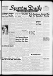Spartan Daily, September 27, 1961 by San Jose State University, School of Journalism and Mass Communications
