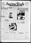 Spartan Daily, October 11, 1961 by San Jose State University, School of Journalism and Mass Communications