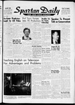 Spartan Daily, October 16, 1961 by San Jose State University, School of Journalism and Mass Communications