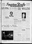 Spartan Daily, October 16, 1961