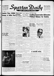 Spartan Daily, October 18, 1961 by San Jose State University, School of Journalism and Mass Communications