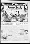 Spartan Daily, November 1, 1961 by San Jose State University, School of Journalism and Mass Communications