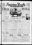 Spartan Daily, November 7, 1961 by San Jose State University, School of Journalism and Mass Communications
