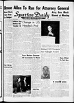 Spartan Daily, November 9, 1961 by San Jose State University, School of Journalism and Mass Communications