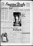 Spartan Daily, January 15, 1962