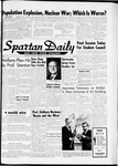 Spartan Daily, January 17, 1962 by San Jose State University, School of Journalism and Mass Communications