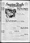 Spartan Daily, March 14, 1962 by San Jose State University, School of Journalism and Mass Communications