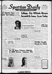 Spartan Daily, March 19, 1962 by San Jose State University, School of Journalism and Mass Communications