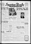 Spartan Daily, March 23, 1962 by San Jose State University, School of Journalism and Mass Communications