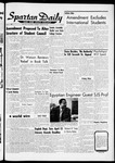 Spartan Daily, March 29, 1962 by San Jose State University, School of Journalism and Mass Communications