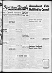 Spartan Daily, April 5, 1962