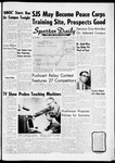 Spartan Daily, May 11, 1962 by San Jose State University, School of Journalism and Mass Communications