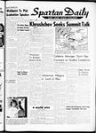 Spartan Daily, October 25, 1962
