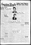 Spartan Daily, November 1, 1962 by San Jose State University, School of Journalism and Mass Communications