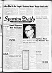 Spartan Daily, November 8, 1962 by San Jose State University, School of Journalism and Mass Communications