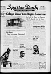 Spartan Daily, December 10, 1963 by San Jose State University, School of Journalism and Mass Communications