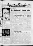 Spartan Daily, November 18, 1963