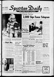 Spartan Daily, January 15, 1964
