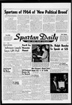 Spartan Daily, November 2, 1964 by San Jose State University, School of Journalism and Mass Communications