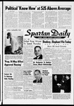 Spartan Daily, November 3, 1964 by San Jose State University, School of Journalism and Mass Communications