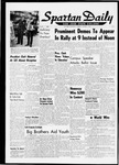 Spartan Daily, October 1, 1964
