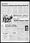 Spartan Daily, December 1, 1965 by San Jose State University, School of Journalism and Mass Communications