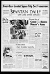 Spartan Daily, June 2, 1965 by San Jose State University, School of Journalism and Mass Communications