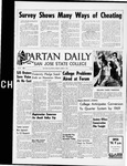 Spartan Daily, March 1, 1965 by San Jose State University, School of Journalism and Mass Communications