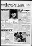 Spartan Daily, November 1, 1965 by San Jose State University, School of Journalism and Mass Communications