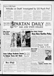 Spartan Daily, November 17, 1965 by San Jose State University, School of Journalism and Mass Communications