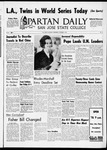 Spartan Daily, October 6, 1965 by San Jose State University, School of Journalism and Mass Communications