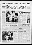 Spartan Daily, October 7, 1965 by San Jose State University, School of Journalism and Mass Communications